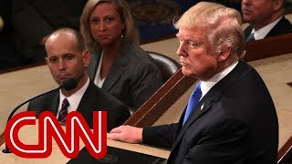 Trump's State of the Union address: Tough talk and call for unity