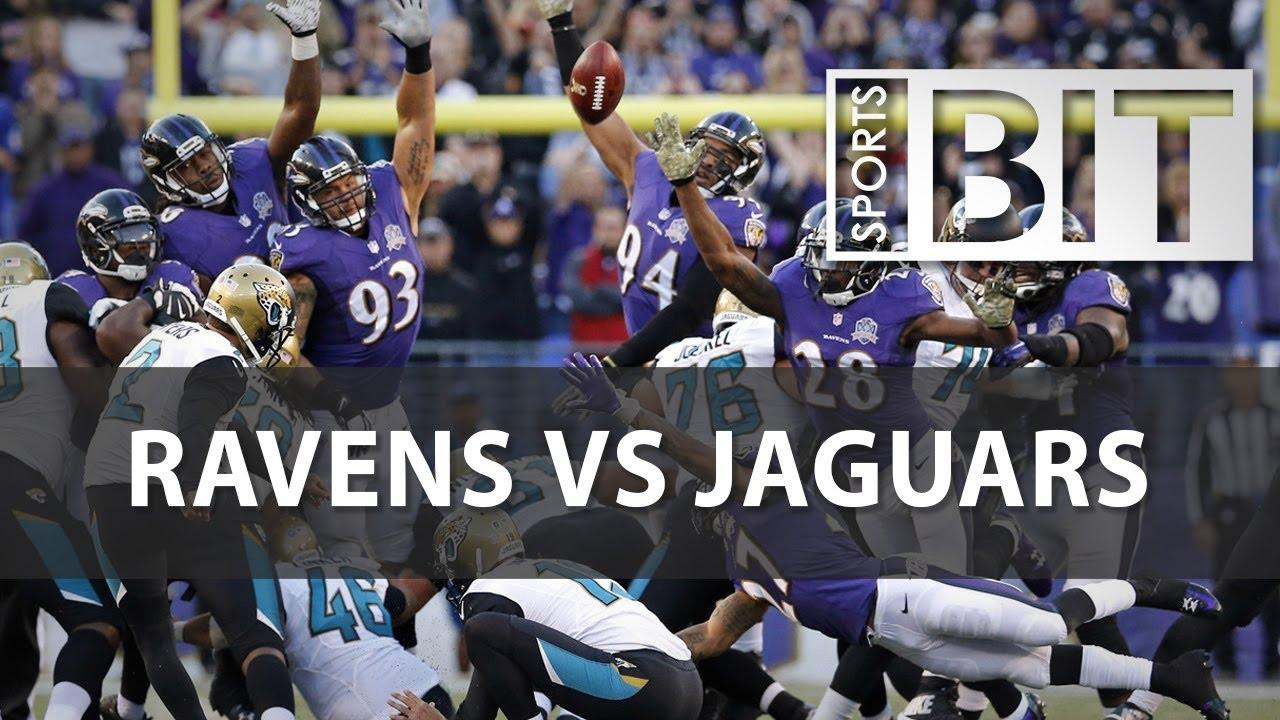 Baltimore Ravens vs. Jacksonville Jaguars LIVE SCORE UPDATES and STATS (9/24 ...