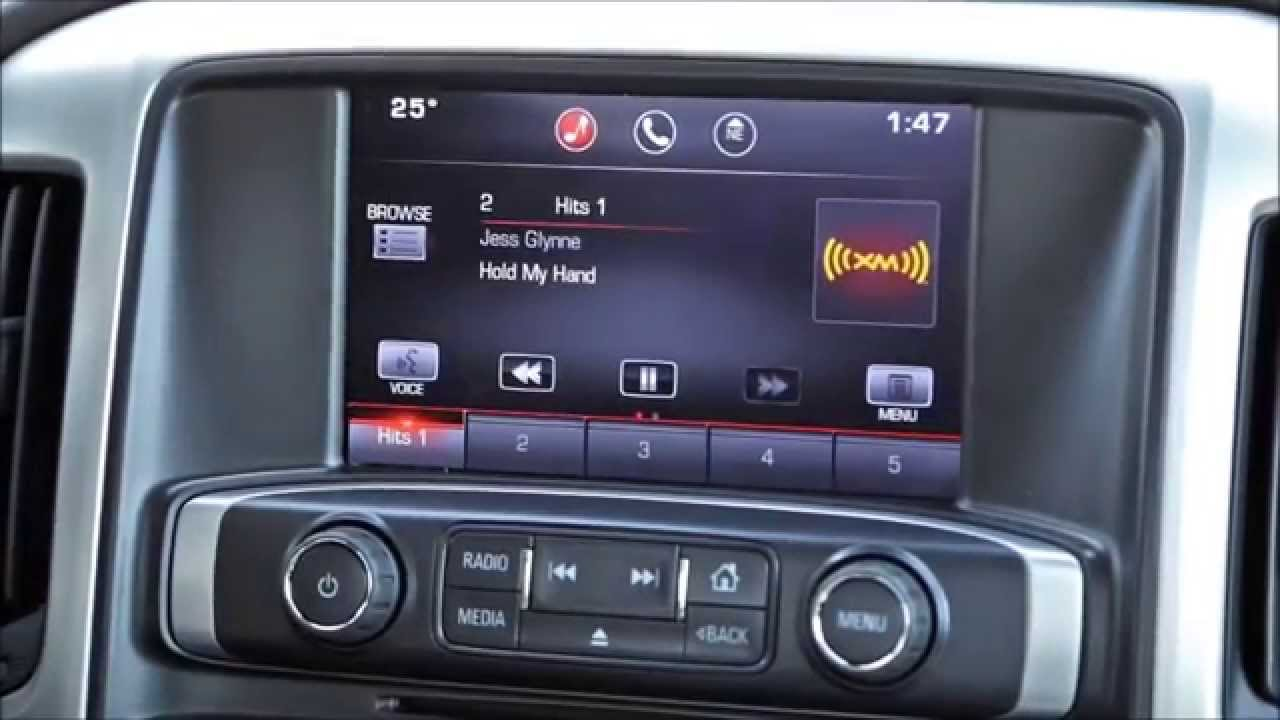 Gmc Intellilink System Audio Commands Youtube