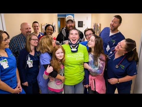 Lila's journey to recovery at Spectrum Health and Mary Free Bed
