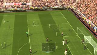 Pro Evolution Soccer 2014 PC Gameplay