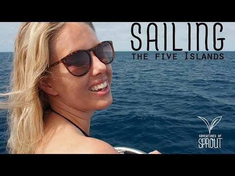 Sailing the 5 Islands - Ep 10 Adventures of Sprout