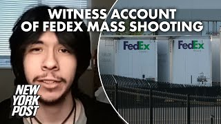 Victim with gun may have tried to stop FedEx shooter, witness says | New York Post