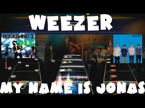 Weezer - My Name is Jonas - Rock Band 2 DLC Expert Full Band (July 28th, 2009)