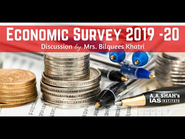 Economic Survey 2019 - The Hindu - Mrs. Bilquees Khatri