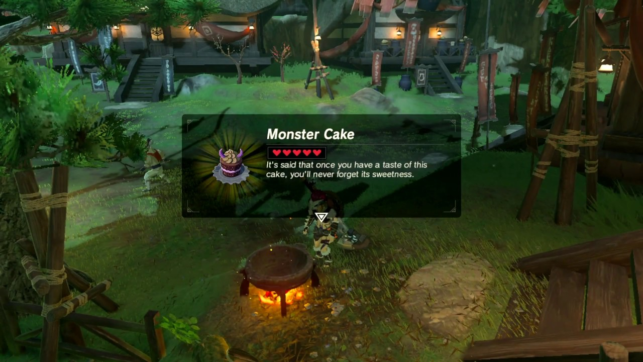 Monster Cake Recipe Zelda