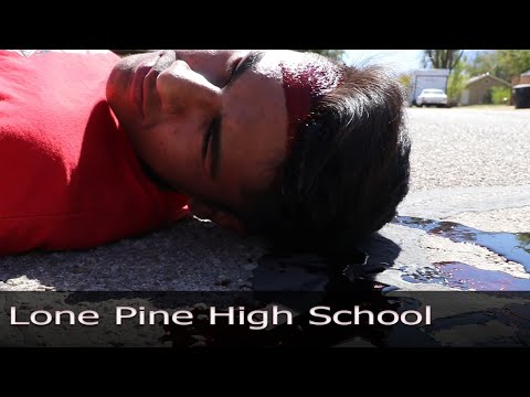 Lone Pine High School - Mock Crash