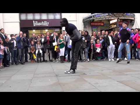 Amazing street breakdance performance