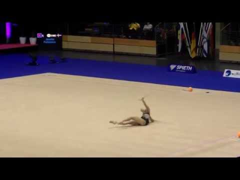 FILIPOVA Radinova (BUL) - Berlin Masters 2014 - Qualifications Clubs
