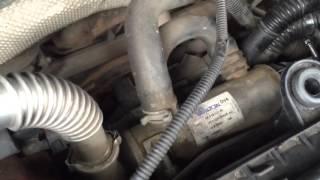 ford fiesta 1 4 diesel egr valve removal