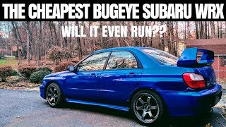 I Bought the CHEAPEST Subaru WRX in the country | Am I CRAZY??!!
