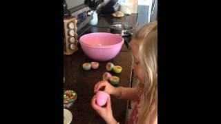 Rice Krispie Hidden Surprise Easter Egg