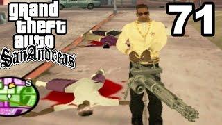 GTA San Andreas | MINIGUN GANG WARS!! #71