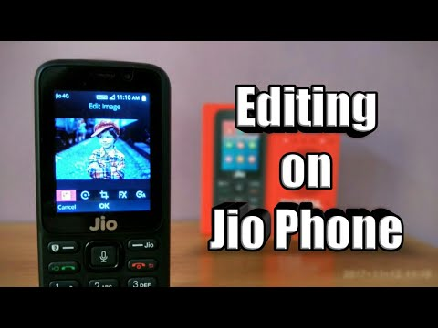 How to edit your pictures in Jio Phone ✓ - YouTube