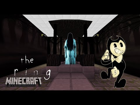Minecraft Nightmare - THE RING - BENDY'S INK FACTORY IS UNDER THREAT FROM SAMARA - Modded Gameplay