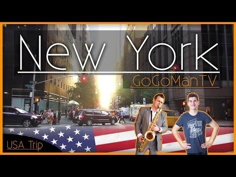 USA TRIP | PART.1 NEW YORK | 4Fans Crew - GoGo & Tom