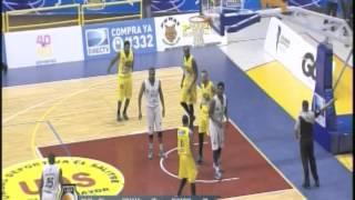 PIRATAS VS BÚCAROS 1 Y 2 2015 Arnold Louis 42pts 12 rebs