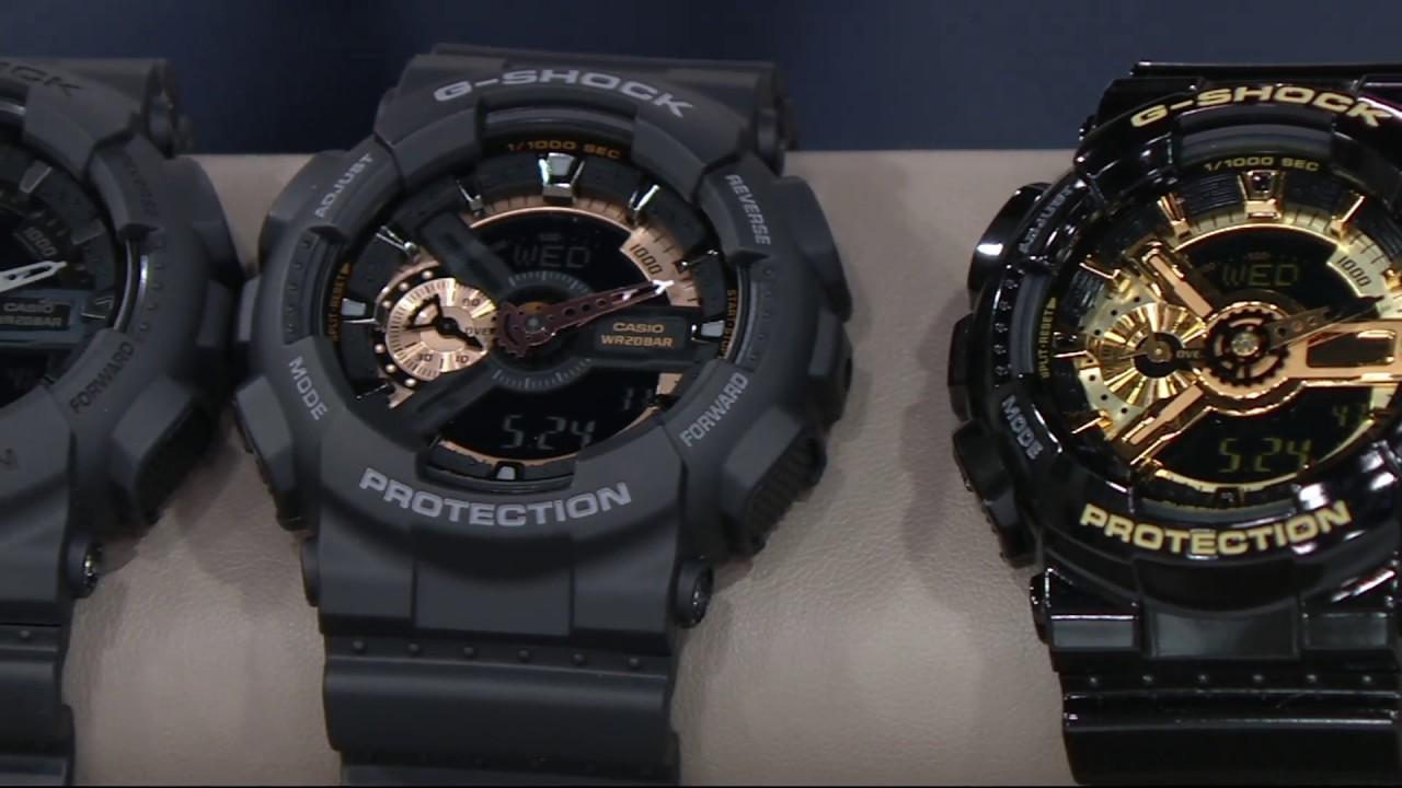 G-Shock Women s and Men s Analog Digital Resin Watch on QVC - YouTube dfaec55fee