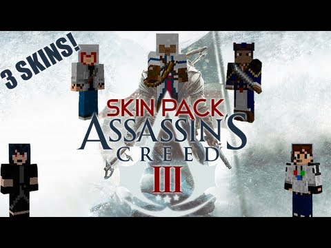 Minecraft Skin Pack Assassins Creed YouTube - Skin para minecraft pe de assassins creed
