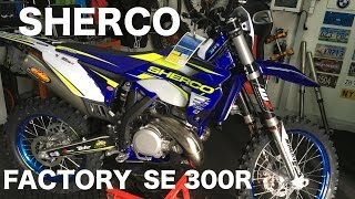 The new SHERCO Factory SE-R 300