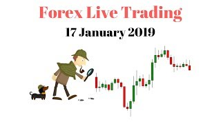 Forex Live Trading - 1 Hour Live Trading with Real Money
