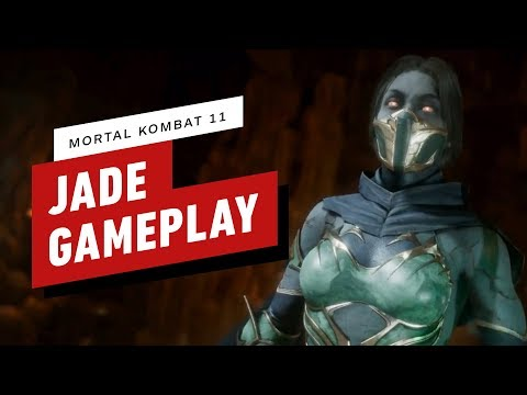 Mortal Kombat 11: Pro Jade Combo Gameplay with NetherRealm thumbnail