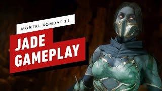 Mortal Kombat 11: Pro Jade Combo Gameplay with NetherRealm