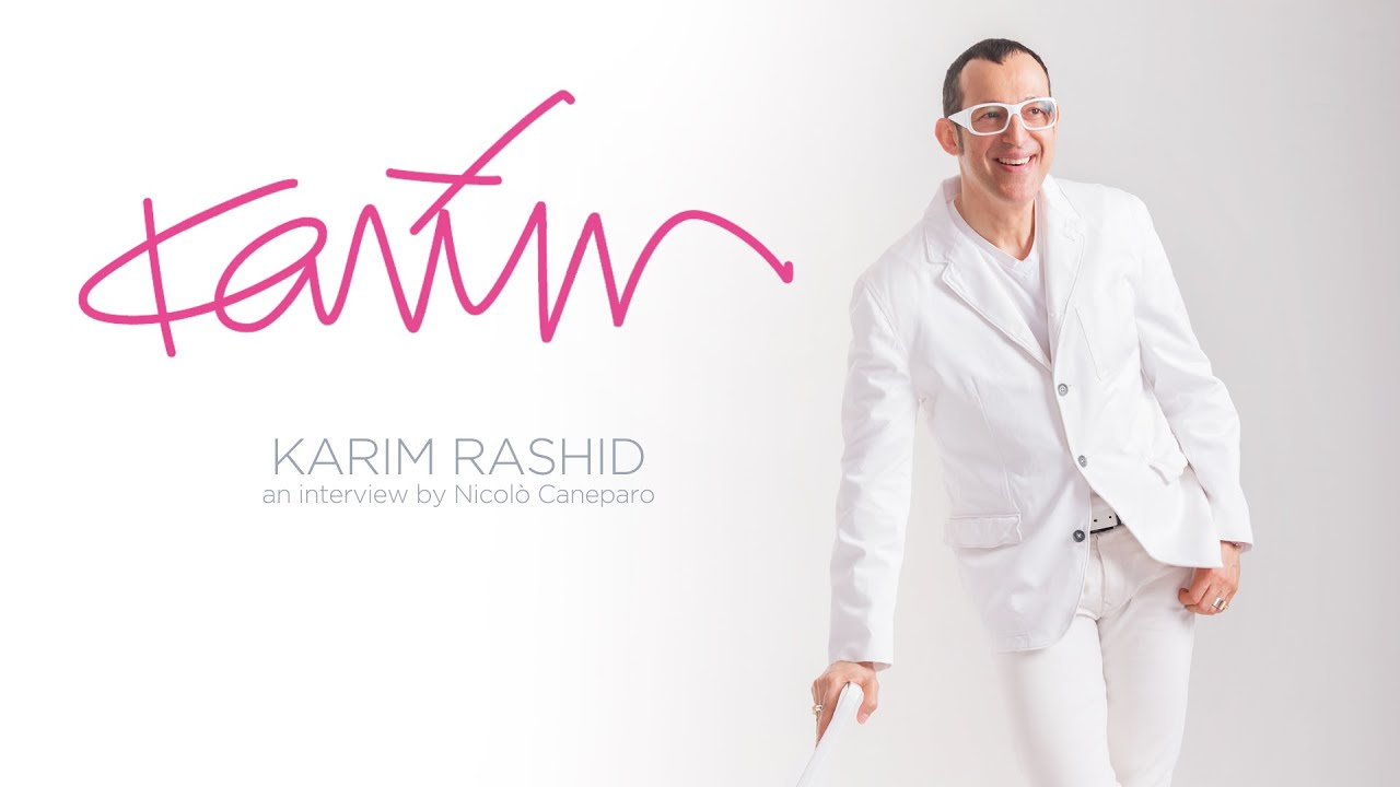 ikons by karim rashid interview youtube
