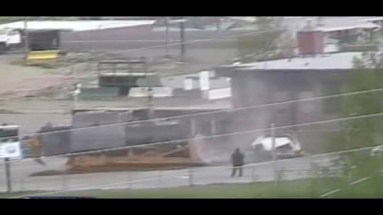 Man Goes On Bulldozer Rampage Through Granby Colorado Youtube