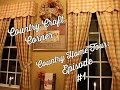Country Home Tour Series: Episode #1 - Family Room, Kitchen, Laundry Room, Mud Room, & Powder Room