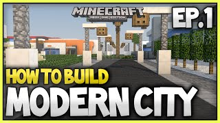 Minecraft Xbox - How To Build A Modern City (EP.1) - Roads