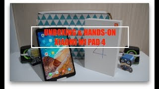 "Tablet ""Murah"" Sudah Pakai SnapDragon 660!! Unboxing & Hands On Xiaomi Mi Pad 4"