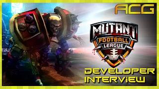 Developer Interview Michael Mendheim – Mutant Football League