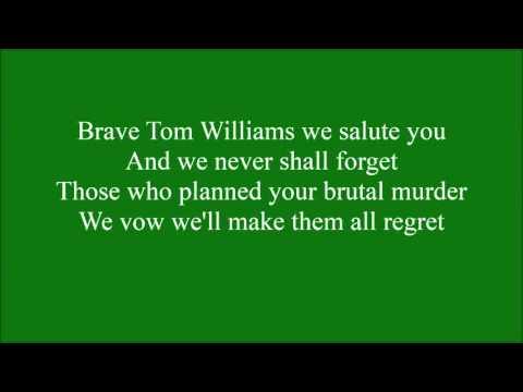 Tom Williams with lyrics