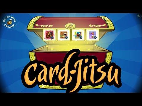 Club Penguin Unlocking Card-Jitsu Cards Code