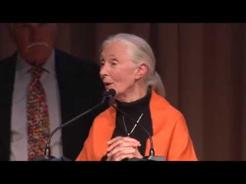 Ted Turner and Laura Turner Seydel introduce Dr. Jane Goodall - CPF gala2014