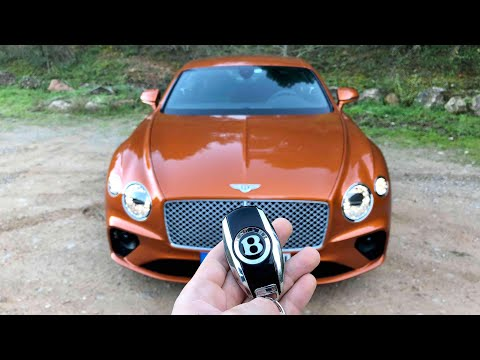 Un MONSTRE !! La toute nouvelle Bentley Continental GT !!