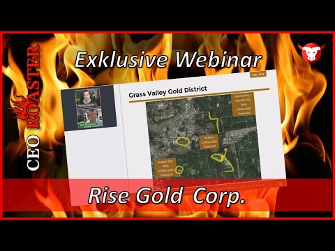Rise Gold Corp. in a CEO-Roaster Web Conference with Ben Mossman (CSE: RISE)