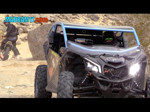 TRIPP PULLEN RIPPING IN HIS CAN-AM MAVERICK X3 AT KOH 2017