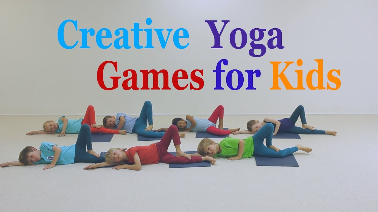 Creative yoga games for Kids - Forest