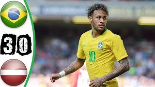 Austria vs Brazil 0-3 | Goals & Highlights - 10/06/2018 (HD)