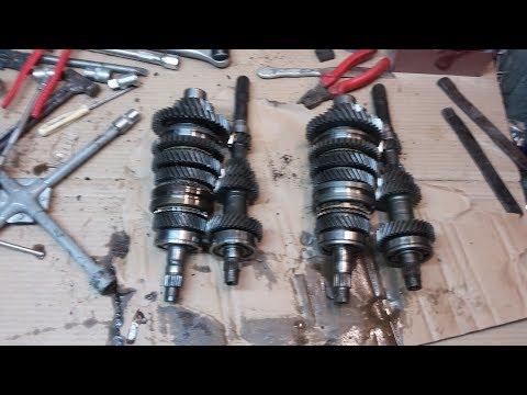 Отличия КПП ВАЗ 2109 и 2110 внутренние и взаимозаменяемость деталей.