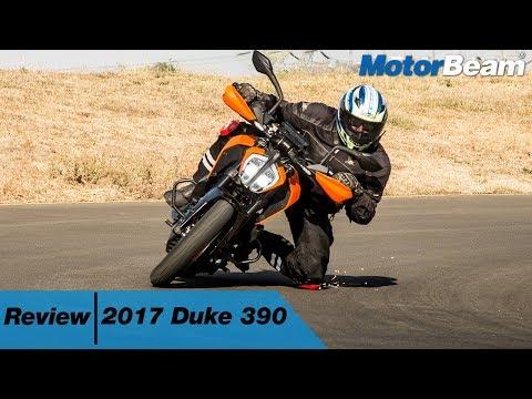 2017 KTM Duke 390 Review - The Beast | MotorBeam