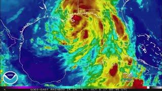 Flooding A Big Issue As Hurricane Nate Makes Landfall