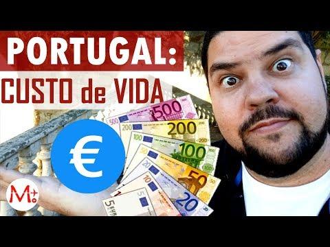 PORTUGAL: Custo De Vida REAL - Sem Enganação!   Canal Maximizar