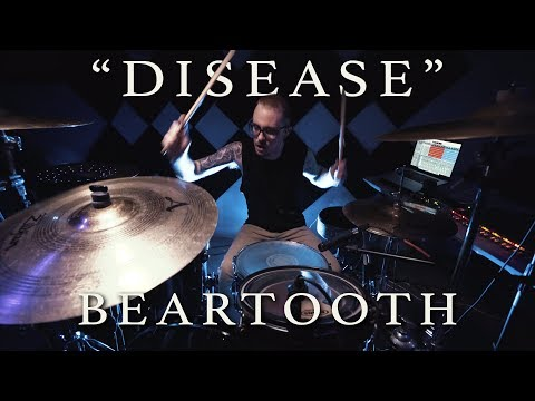 DISEASE - BEARTOOTH   Jeremy Shields  DRUM COVER