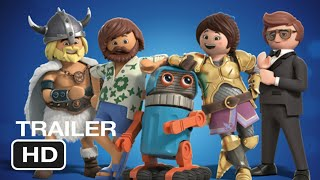 Playmobil: The Movie Official Trailer 2019 Animation Adventure Movie