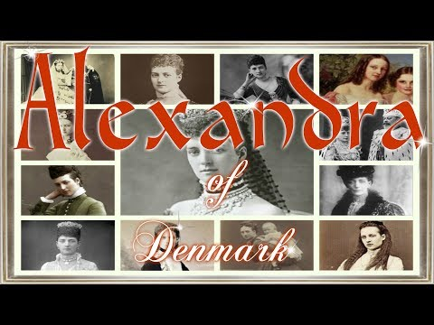 Alexandra of Denmark wife of Edward VII 1844&x20131925;