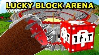 Minecraft: NAJWIEKSZY BOSS vs TNT LUCKY BLOCK- Lucky Block Arena