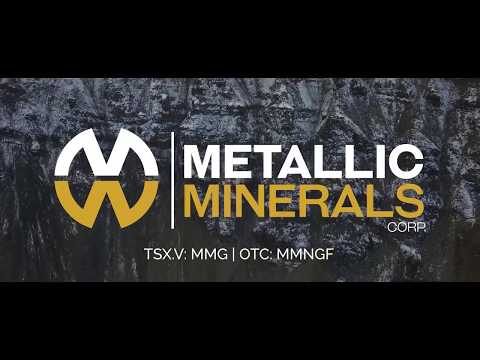 Site Visit - Metallic Minerals - silver stock to buy!
